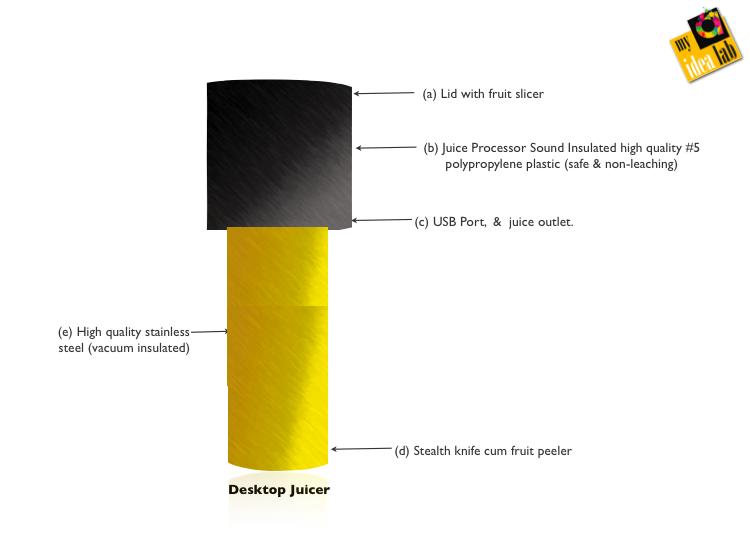 Portable (desktop) Juicer
