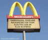 Recharge yourself and your car at McDonald's!